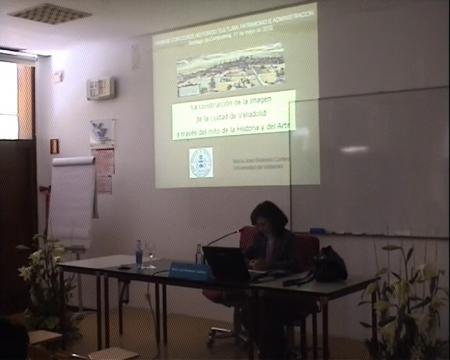María José Redondo Cantera, departamento de Historia da Arte da Universidade de Valladolid.